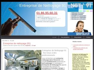 Société de nettoyage 91