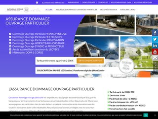 dommage ouvrage particulier