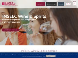 Les formations de l'INSEEC Wine & Spirits Institute