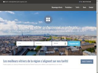 Vitrier Paris Express : un service de vitrerie sans soucis
