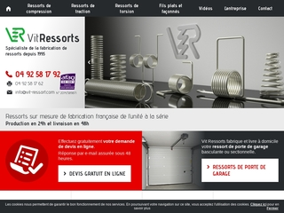 Vit ressorts : le fournisseur de ressorts de référence en France