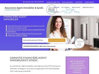 Agence immobilière garantie financière