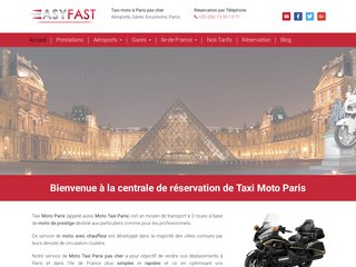 Taxi moto Paris Charles De Gaule