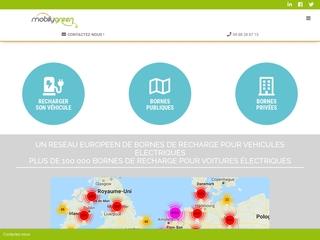 Borne de Recharge Rapide Voiture Electrique  - MobilyGreen
