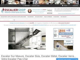 Escalier-Shop: escaliers en kit ou sur mesure