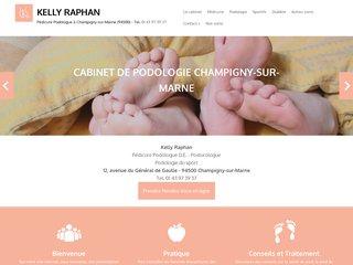 Pédicure-podologue Kelly Raphan à Champigny-sur-Marne