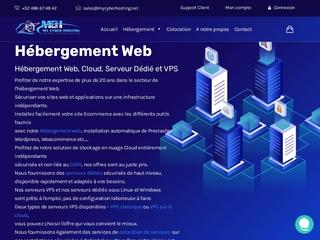 My Cyber Hosting, hébergement web qualitatif