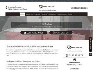 ESC CHAILLOUX, votre entreprise de rénovation à Fontenay-aux-Roses 92