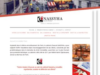 Nassyha, avocat immobilier à Paris 12