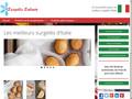 Pâtisseries surgelées d'Italie