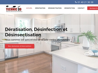 Désinsectisation Paris