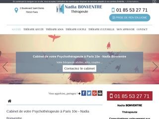 Thérapeute pour l'adulte à Paris (10ème)