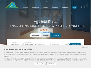 Agence phisa: agence immobilière à Rochefort