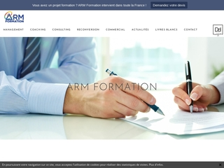 ARM Formation: cours en coaching, reconversion et management