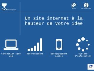 Conception site web, référencement Algérie et développement mobile IDC