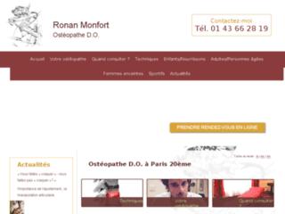 Ostéopathe kinésithérapeute Paris 20