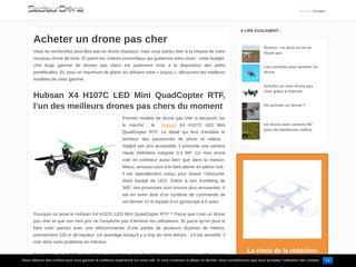 Les meilleurs drones pas chers