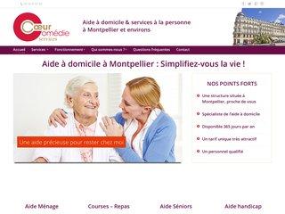 Aide domicile Montpellier - Coeur Comédie Services