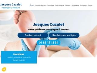 Jacques Cazalet, votre pédicure-podologue à Ermont (95)