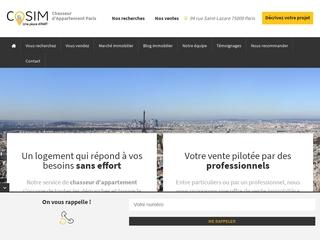 COSIM : chasseur immobilier à Paris