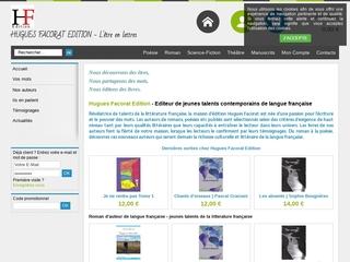 Éditeur de jeunes auteurs français contemporains