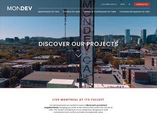 Mondev - Condos urbains à Montréal