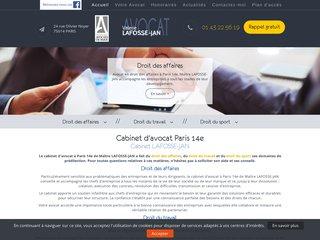 Avocat contrat de travail Paris 14