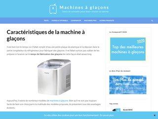 MaG : la référence en ligne des machines à glaçons