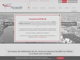 Acropolis : artisan plâtrier professionnel à Nantes et La Baule