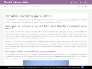 Le guide du climatiseur mobile