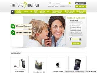 Corriger votre audition avec des appareils auditifs du centre auditif Minitone