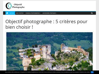 Objectif photographe