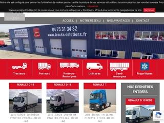 Camions d'occasion : tracteurs, porteurs, remorques et utilitaires