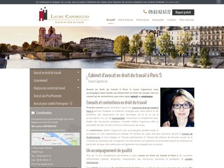 Avocat droit social Paris