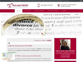 Marie-Aude Freyria, avocat au barreau de Marseille (13)
