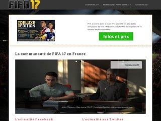 FIFA17 pas cher