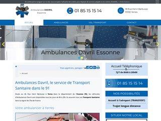 Ambulances Davril, votre spécialiste du transport médical à Yerres (91)