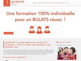 Preparation test Bulats Toulouse, Lyon et Paris