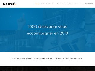 Netref creation de site web