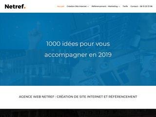 Netref creation de site web