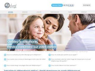 Télésecrétariat accueil téléphonique médical - prise rendez-vous