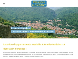 Location appartement à Amélie les Bains avec piscines - Vallespir