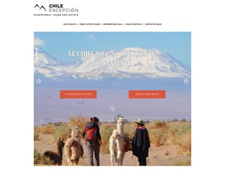 Agence de voyage au Chili