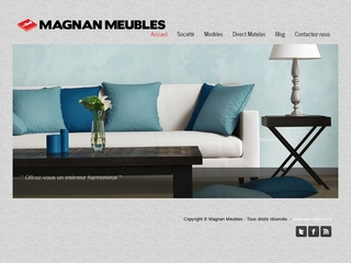 Magnan Meubles : Mobilier moderne et literie