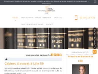 Cabinet d'avocat prudhomme à Lille