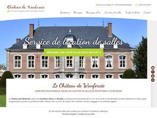 Château de Wanfercée, mariages et salles à louer