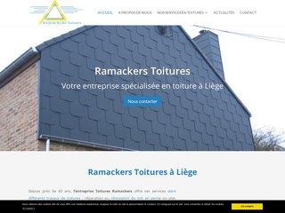 Entreprise de toitures Ramackers à Liège