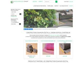 Neogarden Shop - Construire son mur végétal