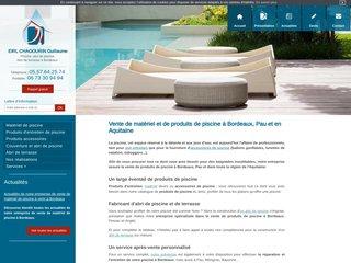 Tout pour votre piscine à Pau et en Aquitaine
