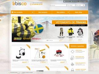 Abisco, vente d'équipements de protection individuelle